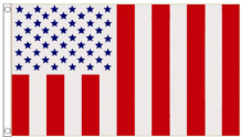 United States of America USA 'Civilian Peacetime' 5'x3' (150cm x 90cm) Flag